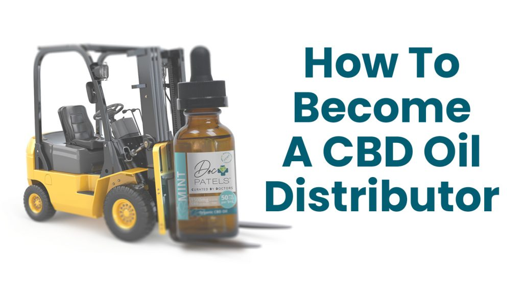 HOw to become a CBD distributor