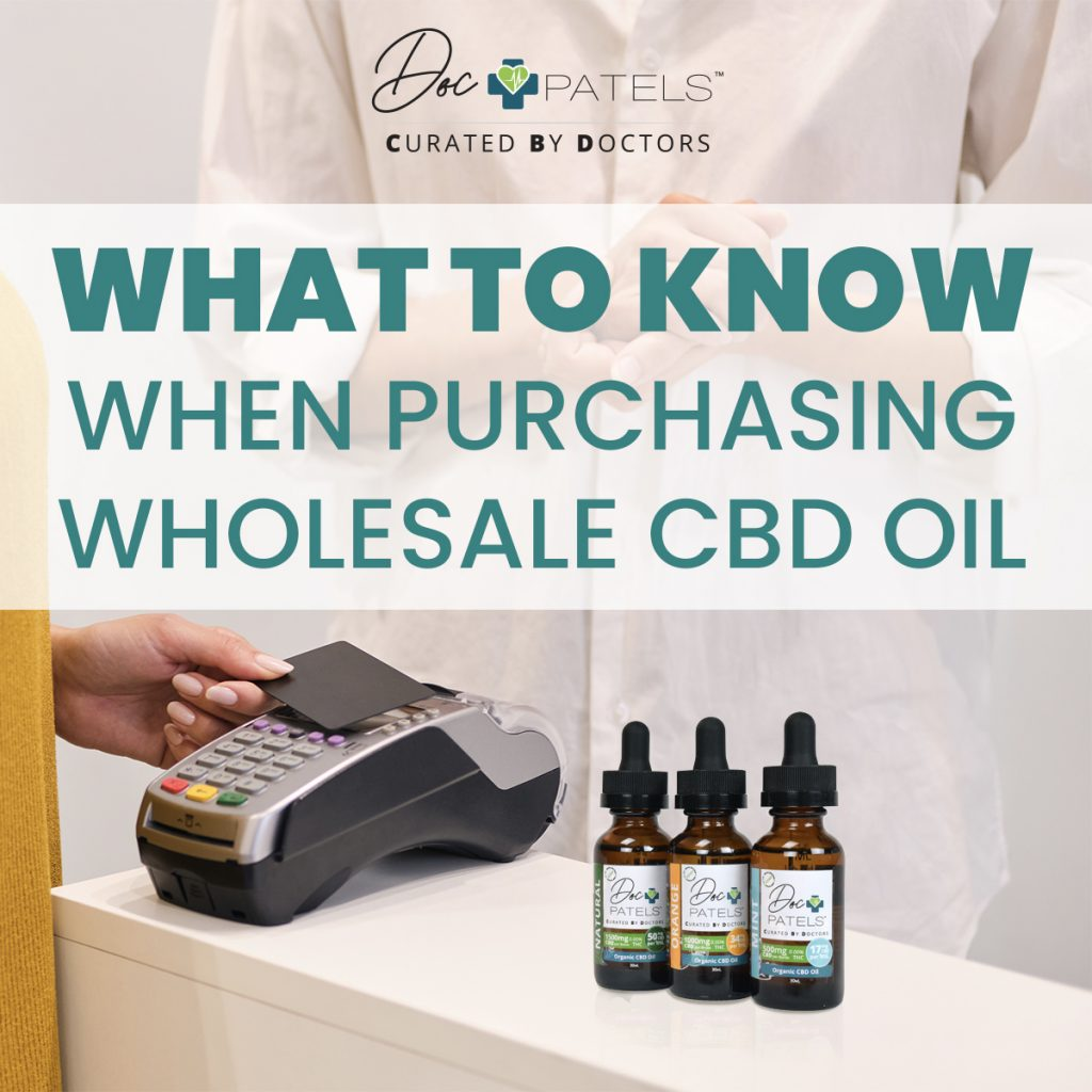 What To Know About CBD Oil Wholesale
